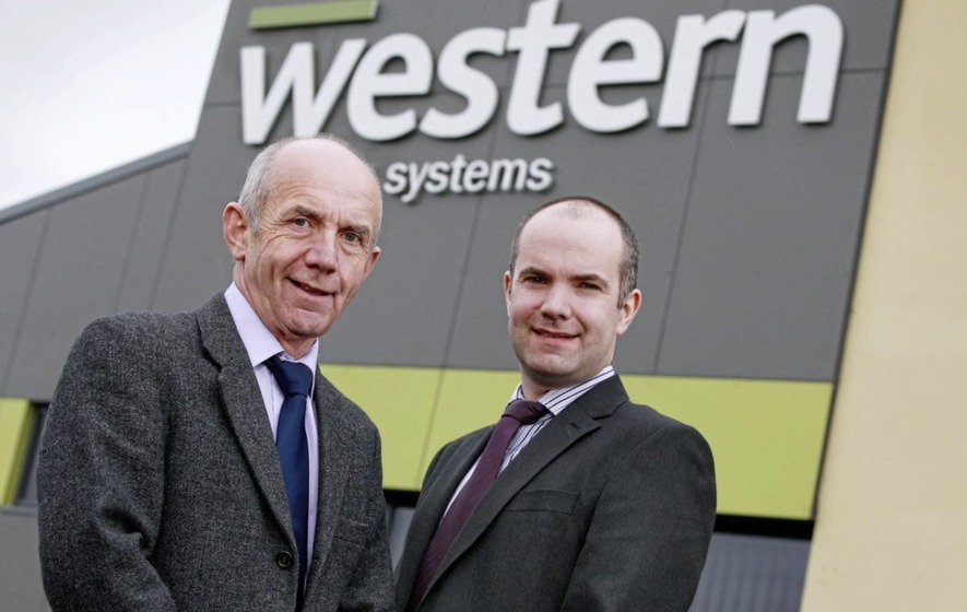 Turnover up by a third at Coalisland firm Western Building Systems
