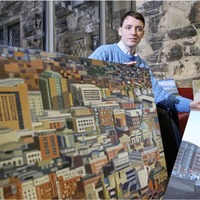 Belfast artist Paul Morrison captures city 'squares and colours'