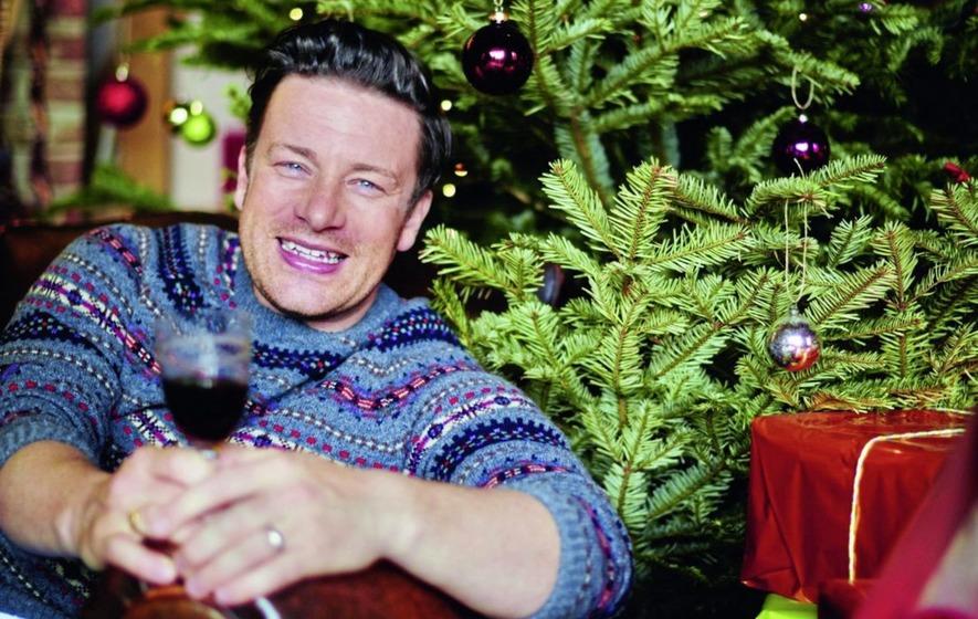 Jamie Oliver Christmas Cake Decoration