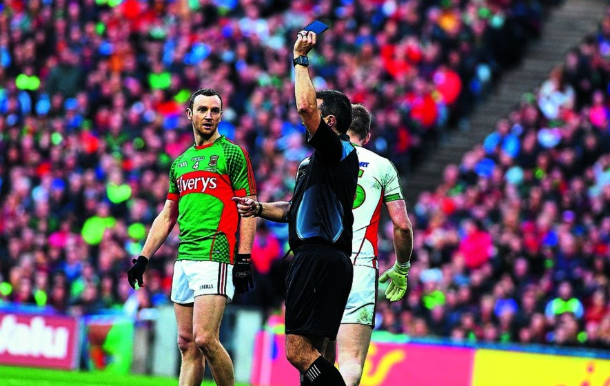 Black card has failed everybody claims Tyrone official Dominic McCaughey
