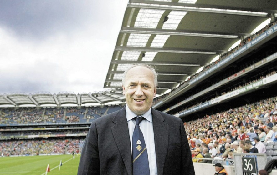 "Former Ulster GAA president  Martin McAviney pays tribute to his ""friend and mentor"" Danny Murphy..."