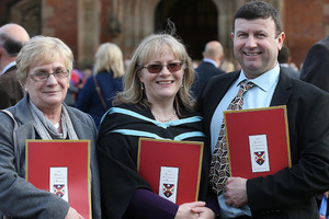 Queen's University Belfast graduations