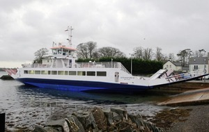 Cars cannot disembark from new Strangford ferry