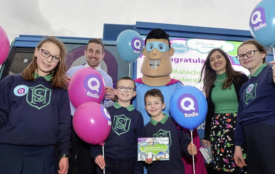 Young GAA fan's 'Gherkin' makeover wins London trip for class