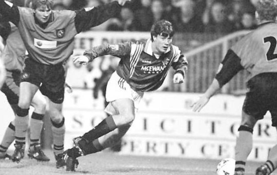 In The Irish News on Dec 11 1996: Richard Gough own-goal rocks Rangers at Tannadice