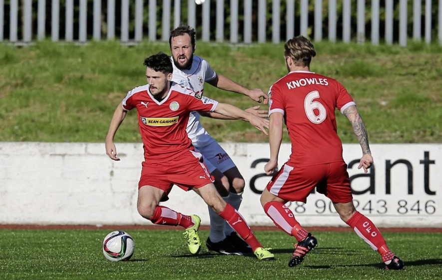 We can still make a title push says Cliftonville defender Tomas Cosgrove