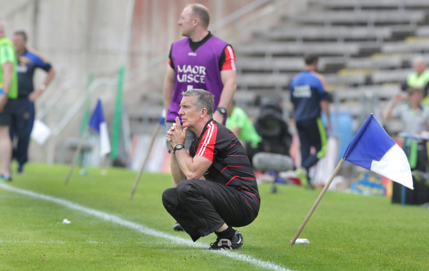 """Derry are """"well over"""" the players who left panel says manager Damian Barton"""