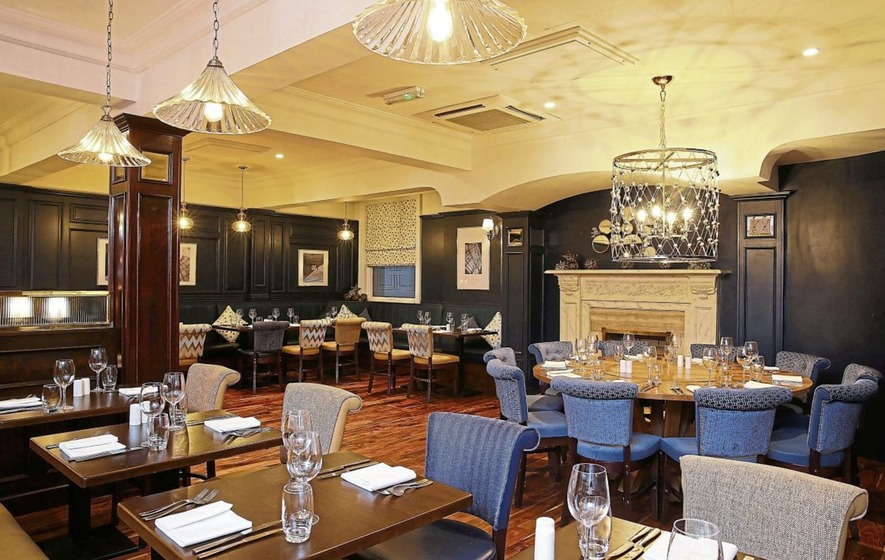 Eating Out Balmoral Hotel In Belfast Delights With Fine