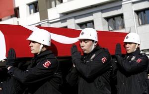 Turkey buries its dead after twin blasts at Istanbul stadium kills 38