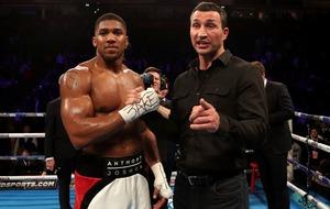 Wembley showdown with Wladimir Klitschko doesn't faze Anthony Joshua