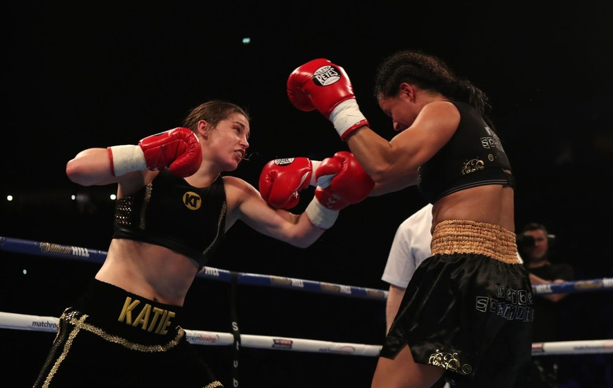 Katie Taylor cruises to second straight professional win in Manchester