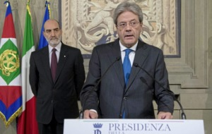 Italy's foreign minister Paolo Gentiloni to be country's next prime minister