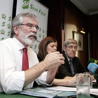 Sinn Fein's Gerry Adams criticised for his 'perverse' comments