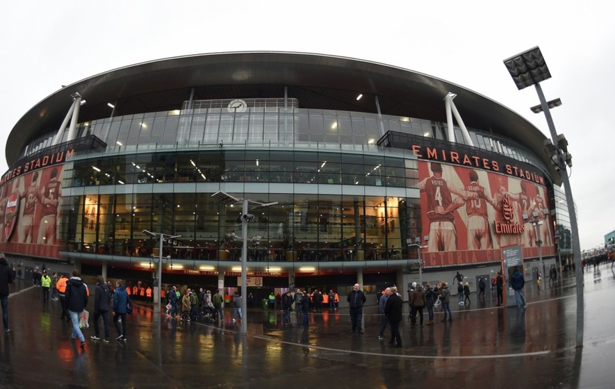 Video: Arsenal investigate security procedures after climbers scaled Emirates Stadium