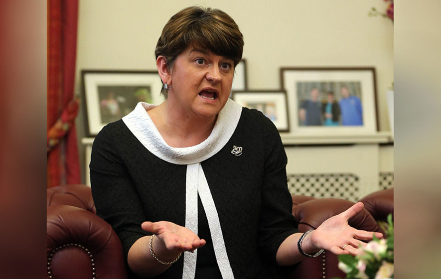 Arlene Foster has said she has 'nothing to hide' over botched energy scheme