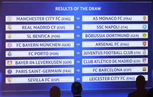 Arsenal drawn to face Bayern Munich in Champions League