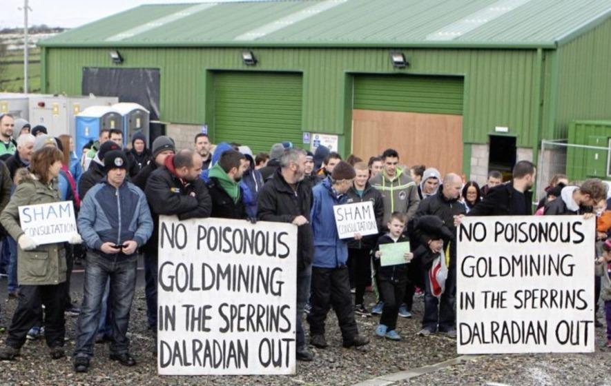 Chris Hazzard calls for public inquiry into Greencastle gold mine plans