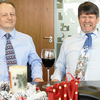 Video: It's not what you would typically associate an accountancy firm with...Christmas cheer