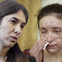 Yazidi women win human rights prize after escaping Islamic State
