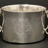 Dublin silver bowl made during Oliver Cromwell's time sold for £25,000