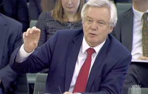 Brexit secretary David Davis 'optimistic' about maintaining open border between north and Republic