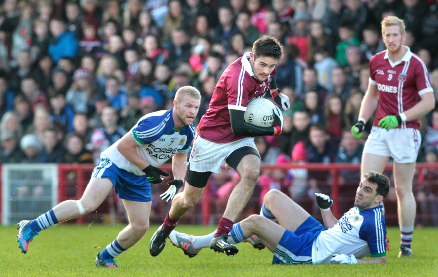Chrissy McKaigue pleads with GAA to switch Slaughtneil semi-final dates