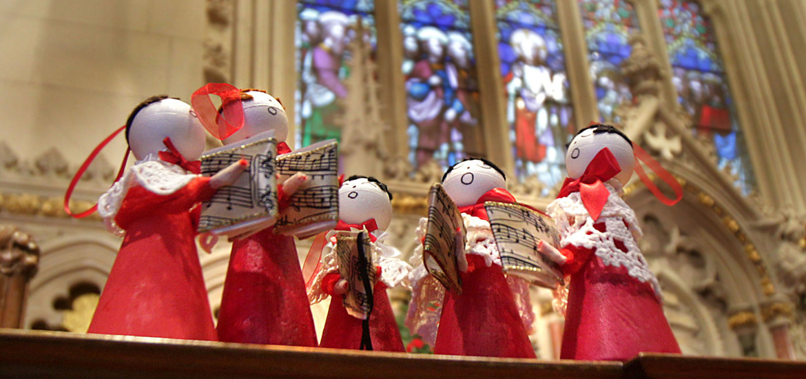 Cathedral Christmas Tree Festival Reflects All Shades Of
