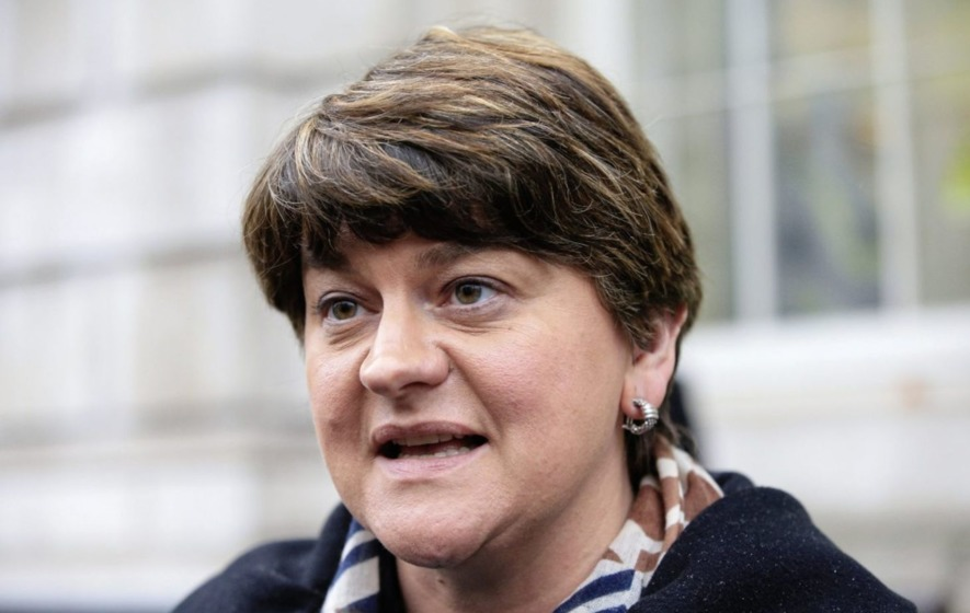 Video: Arlene Foster 'not worried' about Jonathan Bell interview on Renewable Heating Incentive