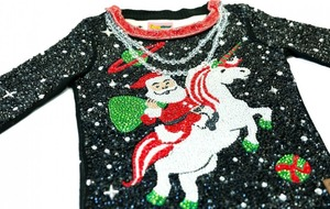 Introducing the world's most expensive ugly Christmas jumper
