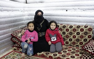 Winter struggle for Syrian refugees in Lebanon