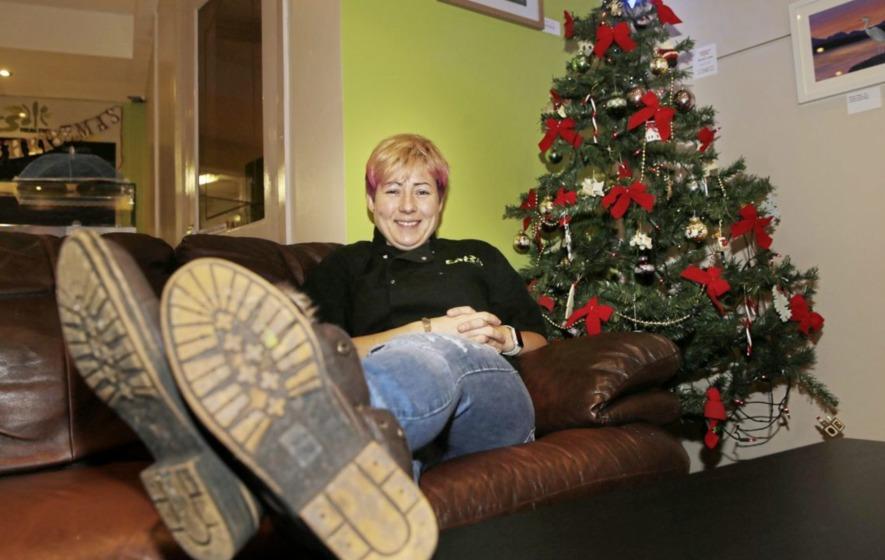 Q Radio presenter Sonya Mac serves up charity Christmas dinner