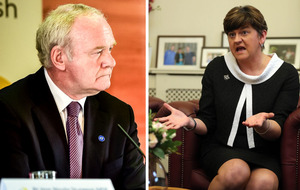 Stormont crisis: Martin McGuinness delivers ultimatum to Arlene Foster