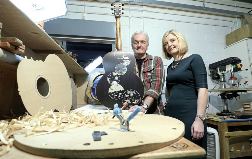 Lowden hits the high notes with production of landmark 20,000th guitar