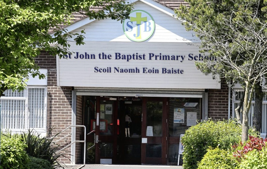 West Belfast's St John the Baptist Primary School exits 'special measures'