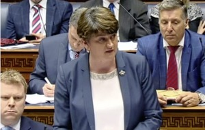 Arlene Foster's lack of assembly support sets Stormont precedent