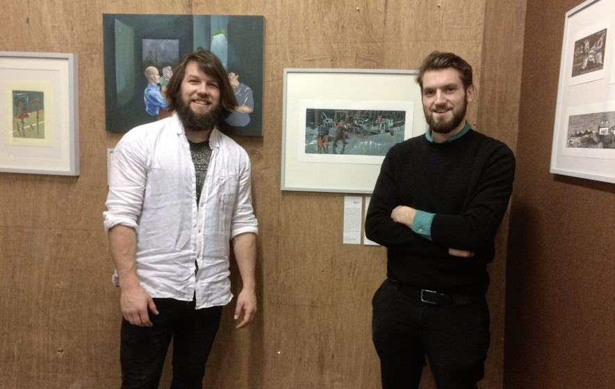 Art show gives aspect of Ireland after emulating 1,300-mile cycle trip