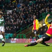 Scott Sinclair strikes for Celtic to beat Partick