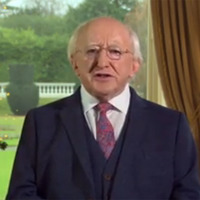 Video: President Michael D Higgins delivers Christmas and New Year message
