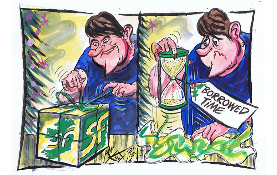 Brian Feeney: Arlene Foster could be last unionist first minister