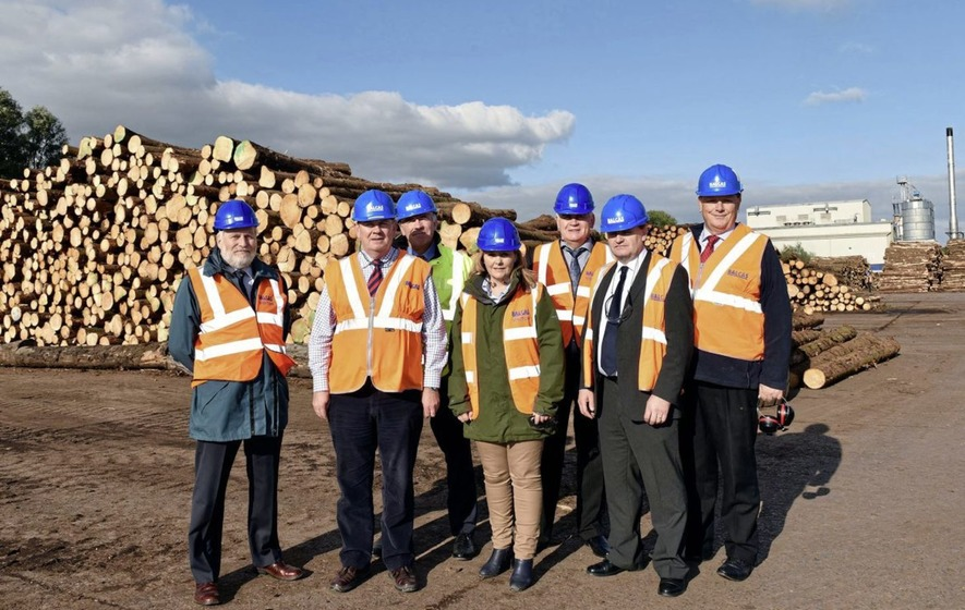 Invest NI is shareholder in leading biomass wood pellet company