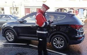 Coalisland on final 'final warning' for parking tickets