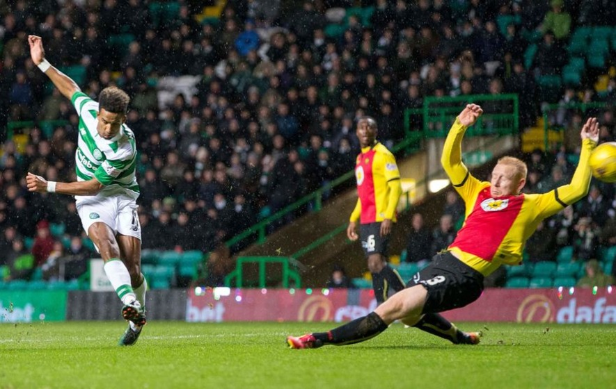 Celtic's Scott Sinclair looking forward to Old Firm derby