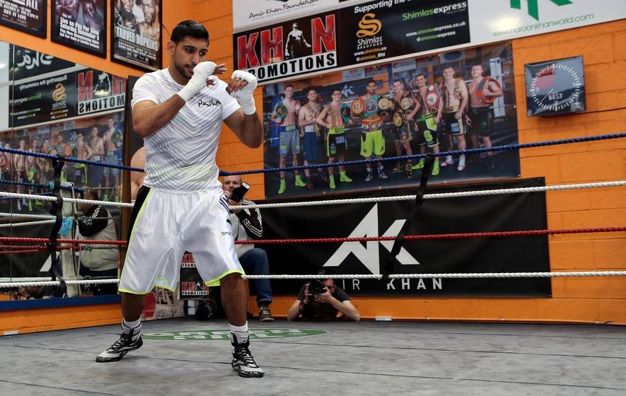 Amir Khan reveals plans for a mixed martial arts league in Britain