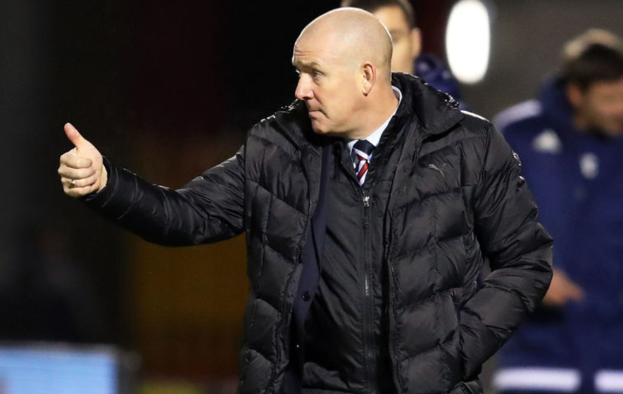 Rangers boss Mark Warburton 'flattered' to be linked with England U21 post