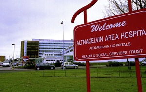 New ward closure at Altnagelvin due to vomiting bug