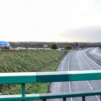M1  motorway closed following serious crash