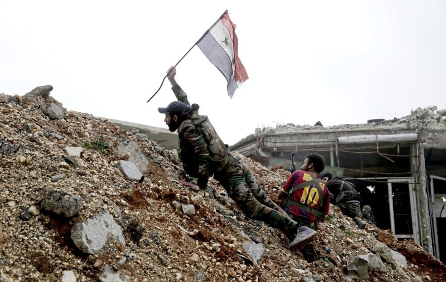 Russians 'find mass graves of Syrians in Aleppo'