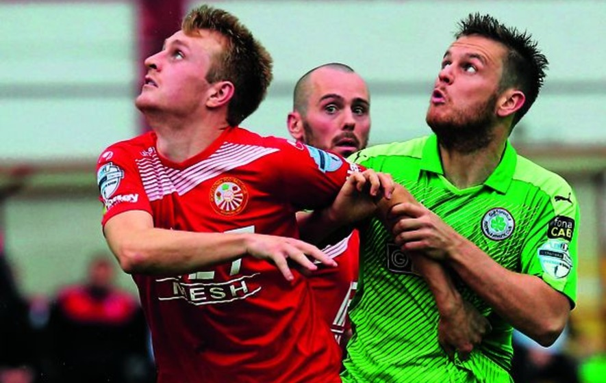 Things starting to look up for Cliftonville says Jamie McGovern