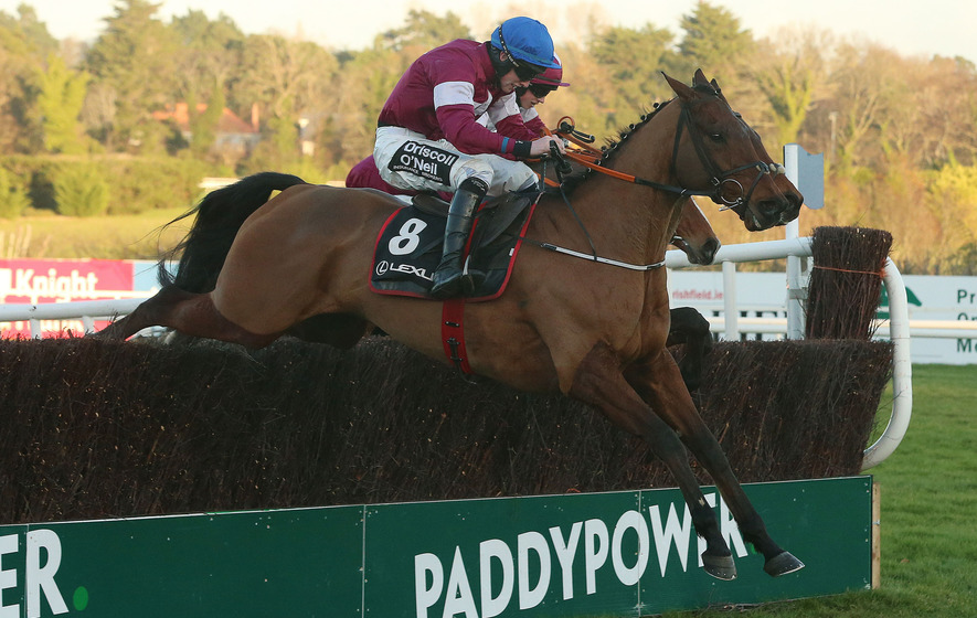 Day to savour for Jack Kennedy as Outlander makes it count in Lexus Chase