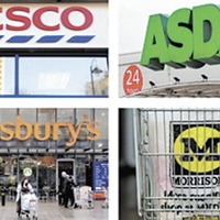 'Big four' supermarkets 'pull back Christmas shoppers'